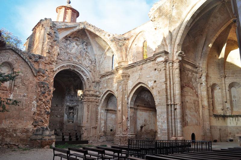 Resultado de imagen de monasterio de piedra iglesia